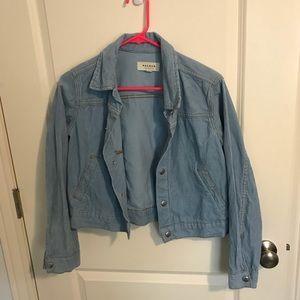 Pacsun corduroy blue jacket